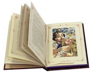 """Иллюстрация из подарочной книги """"Демоническая женщина"""""""