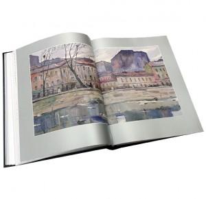 """Разворот подарочного издания с иллюстрациями """"Идиот"""""""